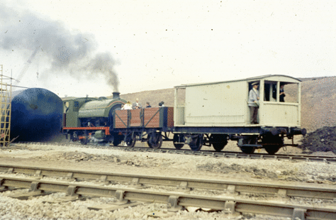 No. 6 on a passenger train in 1971