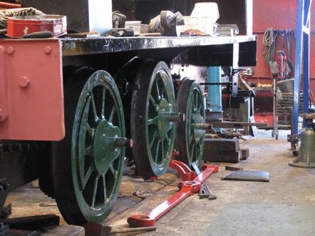 adjusting rear axlebox
