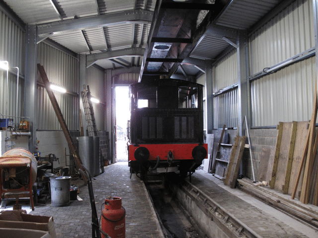 the Sentinel in the running shed