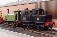 Two ex-Main Line locos