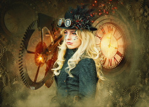 a steam punk
